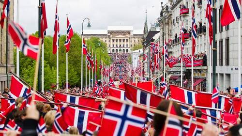 Parade in Oslo 17th of May