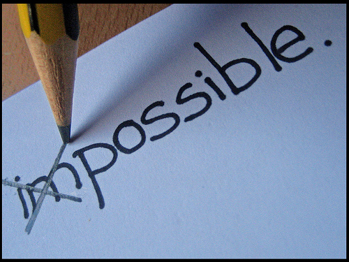 Everything is possible if you set your mind to it!