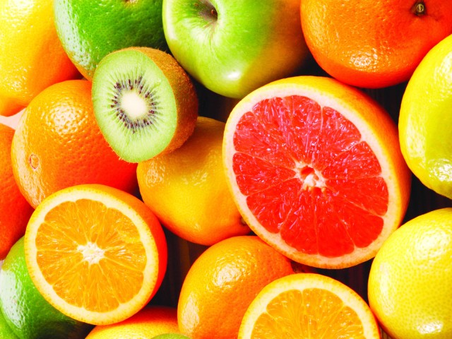 Up your fluid intake with citrus fruits!