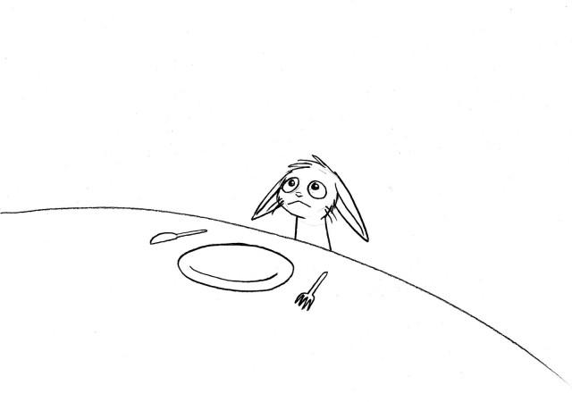 hungry bunny