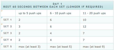 The 100 Push Ups Challenge ~ Week 1 | Awesome Åshild