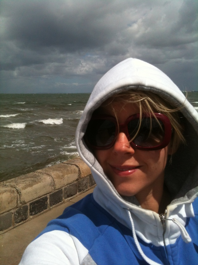 Windy at the beach today!!