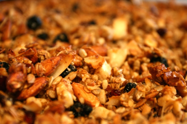 Fresh granola for the week