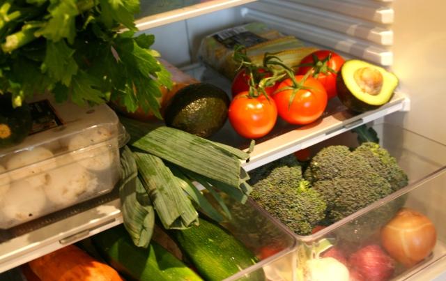 A full and tempting fridge